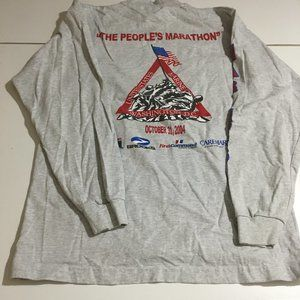 Marine Corps Marathon USMC Mens Medium Shirt 2004